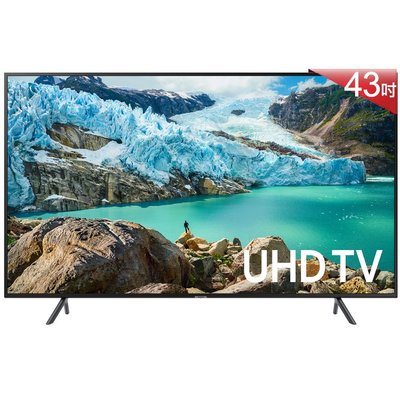SAMSUNG 三星 43吋 4K UHD 連網 液晶 電視 UA43RU7100WXZW $17300
