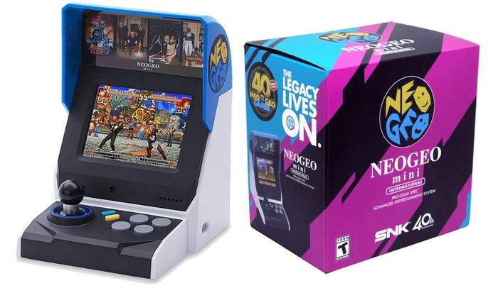 現貨中 海外版動作系列 SNK 40 周年紀念遊戲機 NEOGEO mini 迷你SNK主機 【板橋魔力】