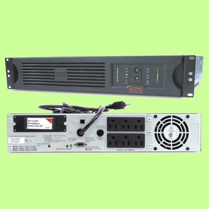 5Cgo【權宇】APC SMART-UPS 1000VA SUA1000RM2UTW在線互動式不斷電系統UPS兩年保含稅