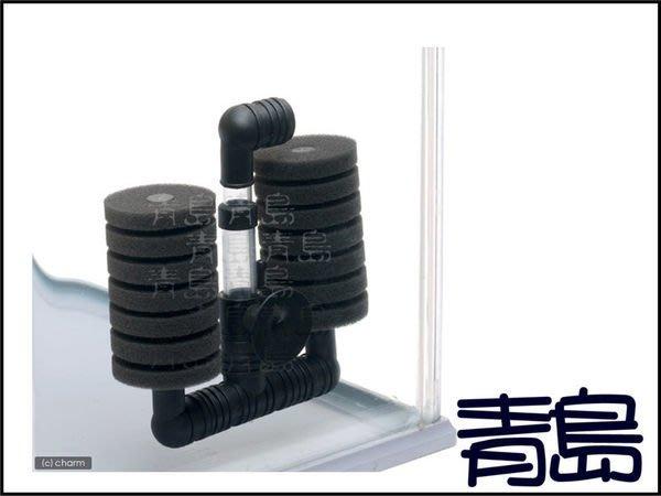 七月缺→Y。。。青島水族。。。E1358中國信友----高溶氧生物過濾器(水妖精)==小雙管XY-2831