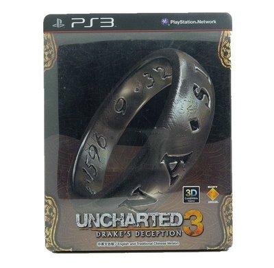 【二手遊戲】PS3 秘境探險3 德瑞克的騙局 UNCHARTED 3 DRAKE'S DECEPTION 鐵盒版 中文版