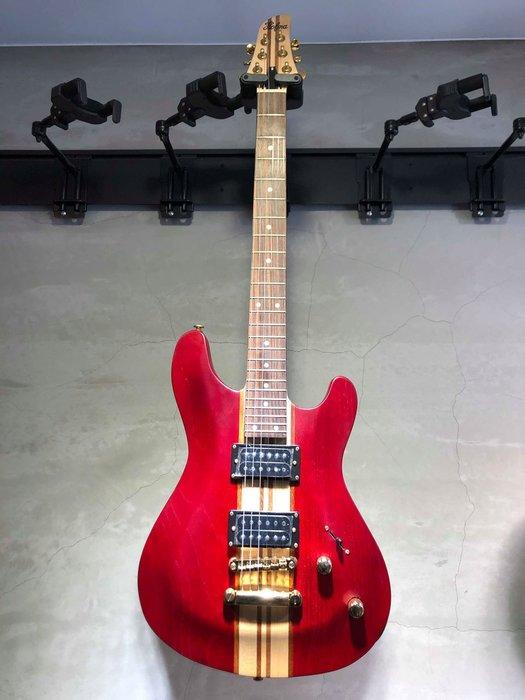 【六絃樂器】全新精選 HOFMA  紅色電吉他 / 現貨特價