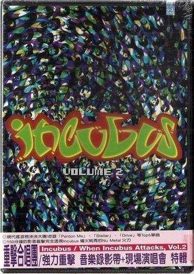 *【絕版品】INCUBUS 重擊合唱團 // 強力重擊 音樂錄影帶 + 現場演唱會特輯 ~ 美版 DVD