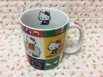 Sanrio hello kitty 彩版大馬克杯~日本製~收藏出清
