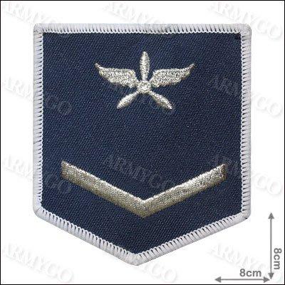【ARMYGO】空軍 士兵軍便服 階級臂章