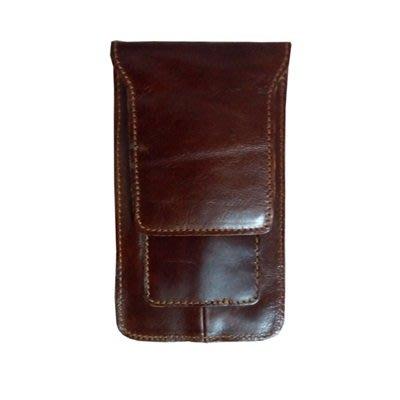 腰包 真皮 手機包(24H.現貨配送)-超薄簡約純色牛皮男包包73tr14[獨家進口][米蘭精品]