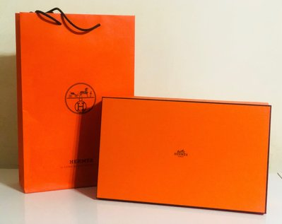 Hermes 立體紙硬盒