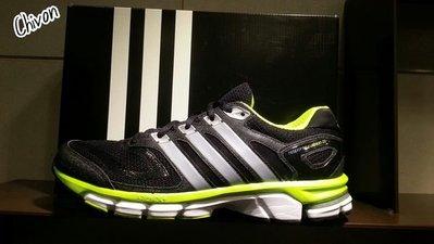 *CHIVON* ADIDAS RESPONSE CUSHION 22 M 慢跑鞋 黑 黃 螢光 D67063 透氣 網布 全新 保證正品