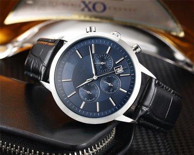 台灣熱賣 2021款男士全功能石英真皮腕表watchmen敦煌shoppe熱賣現貨批發 男手錶