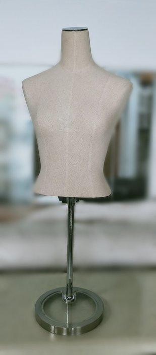 宏品二手家具館 台中便宜家中古傢俱賣場XS0603*半身模特兒*2手拍賣 服飾店用品 展示櫃 吊衣架 吊衣桿