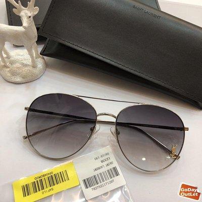 【GoDay+刷卡】YSL yves saint laurent 時尚飛行 歐美時尚 太陽眼鏡 顏色1 歐洲代購