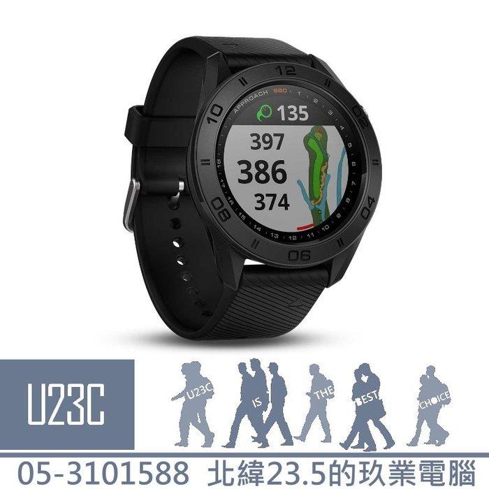 【嘉義U23C 含稅附發票】GARMIN Approach S60 中文GPS高爾夫球錶(尊爵版) 陶瓷錶圈 水下50米