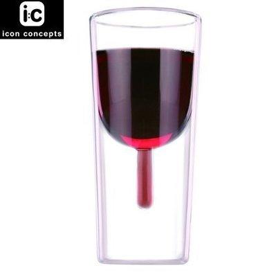Icon Concepts / Red Wine Glass 雙層透視系列 - 紅酒杯組(2入) **全新**