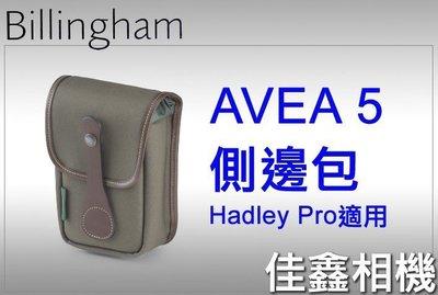 @佳鑫相機@(全新品)Billingham白金漢 AVEA 5 配件包/側邊包 (FibreNyte綠/巧克力) 公司貨
