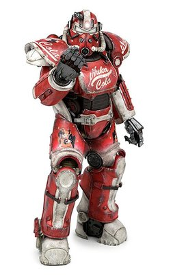 【丹】TG_Fallout 4 T-51 Power Armor - Nuka Cola Armor 異塵餘生 公仔