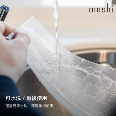 Moshi ClearGuard for MacBook Air 13 超薄鍵盤膜 (2018-2019, US透明)