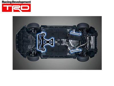 【Power Parts】TRD MEMBER BRACE 底盤拉桿組 LEXUS UX 2019-