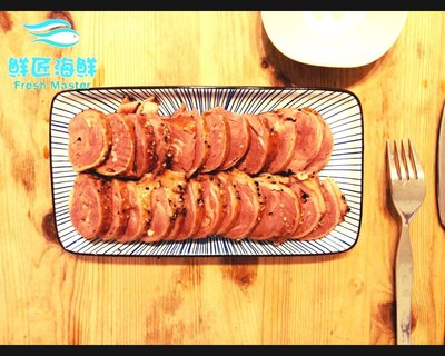 【鮮匠海鮮】【櫻桃鴨卷(解凍即食)(400g)】煙燻香氣札實口感,真空包裝