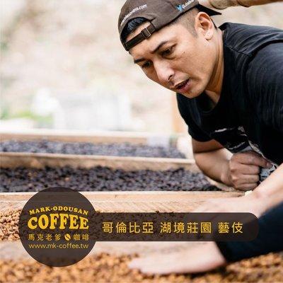【馬克老爹烘焙】哥倫比亞 薇拉 湖境莊園 藝伎 水洗 咖啡豆 (半磅)