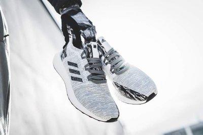 【Cheers】adidas x UNDFTD PureBOOST GO 灰色 灰白 聯名 限量 BC0474 慢跑鞋
