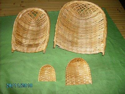 B2065/3竹製畚箕組(大.中.小)~古早味擺飾品