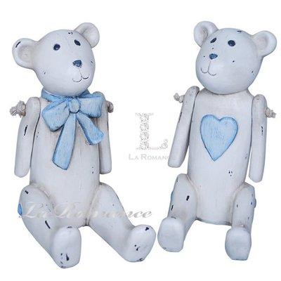 【芮洛蔓 La Romance】德國 Heidi 童趣家飾 - 粉藍巧比熊一對(共 二種尺寸)/ 小孩房 / 兒童房