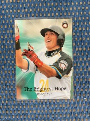 """旅日名將/火腿鬥士隊 陽岱鋼 (10BBM火腿鬥士卡 """"The Brightest Hope"""", NO.F80)"""