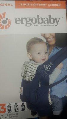 COSTCO好市多代購~ERGOBABY 原創款寶寶揹巾/背巾(1入)可前揹.後揹.側揹-超取60元