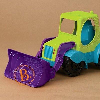 【魔法世界】美國【B.Toys】大力士推土機