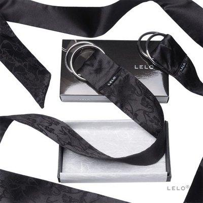 ❀艾薇兒❀滿千贈送小禮物 cosplay道具瑞典LELO絲綢系列BOA PLEASURE TIES絲綢情趣SM綑綁領帶黑