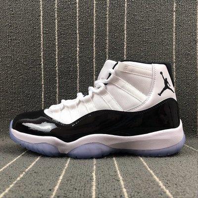 Nike Air Jordan 11 Retro 白藍 百搭 中幫 經典 籃球鞋 378037-100 男