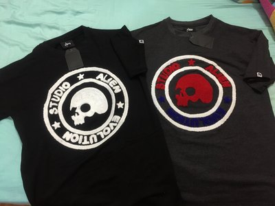 08/22 Aes Summer/Spring 2015 - Aes Skull Circle Tee 小鬼品牌 S/M