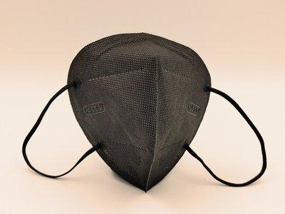 【昭惠】台灣製 成人3D立體口罩  YASCO 歐規FFP2 黑色口罩