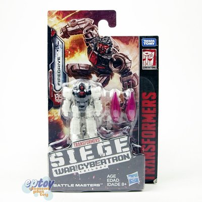 全新 變形金剛 Transformers WFC SIEDE War For Cybertron Battle Masters Firedrive