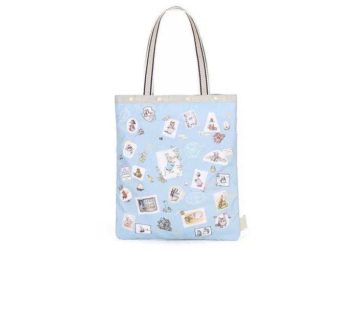 ♥ 小花日韓雜貨 -- lesportsac 2339 peter rabbit 彼得兔中款肩背包手提包