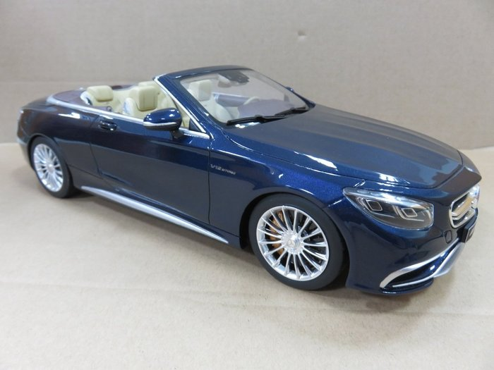 =Mr. MONK= GT SPIRIT Mercedes Benz S65 Convertable AMG 敞篷