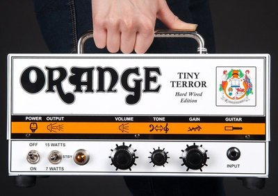 【現代樂器】全新品Orange TINY TERROR HEAD 全真空管 電吉他音箱頭 現貨在庫 可信用卡分期