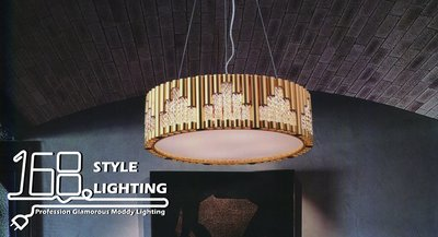 【168 Lighting】典雅時尚《水晶吊燈》GG 71019