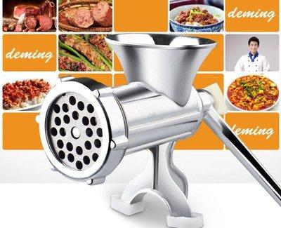絞肉機手動家用灌香腸機手搖絞菜攪碎肉絞大蒜機灌腸機臘腸機家用機 【1件免運】