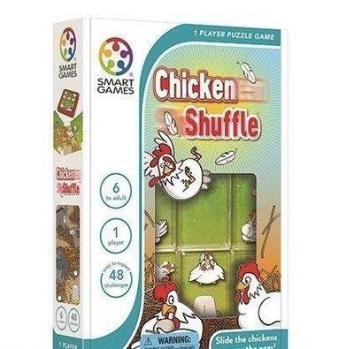 【陽光桌遊】SMART GAMES-雞蛋保衛戰 Chicken Shuffle 繁體中文版 正版 邏輯思考 滿千免運