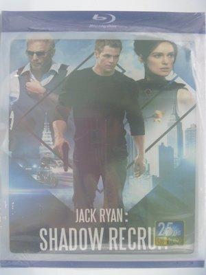 【月界】未拆封~Jack Ryan: Shadow Recruit_傑克萊恩:詭影任務 藍光光碟 〖電影〗CAA