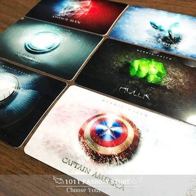 復仇者聯盟 鋼鐵人 美國隊長 綠巨人浩克 雷神索爾 蜘蛛人 icash2.0 悠遊卡 一卡通 限量 卡貼