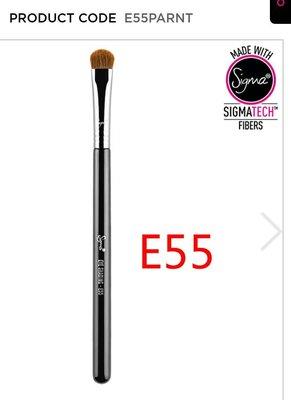 sigma E55 - Eye Shading眼影暈染刷C brush,平價mac