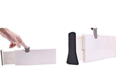 日式可自由伸縮隔板【NF523】創意伸縮式隔板 塑膠抽屜隔板 家用收納隔板