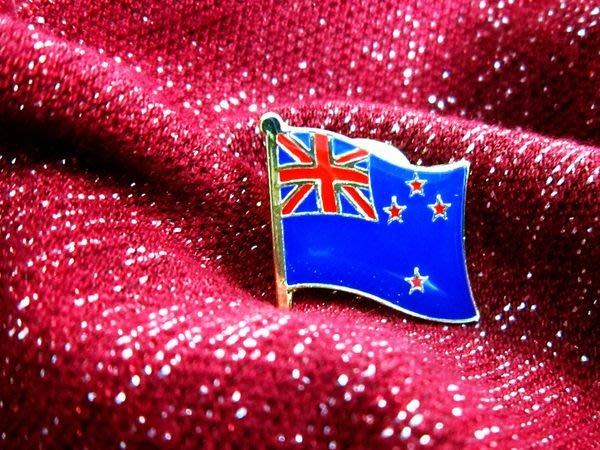 【國旗徽章達人】紐西蘭國旗徽章/胸章/別針/胸針/New Zealand/超過50國圖案可選