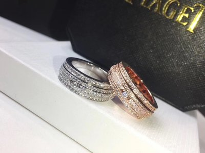 Piaget 伯爵 Possession 系列 同款 925純銀 螺旋 無鑽 鑲鑽 戒指 多款可選 多買可優惠!! A2