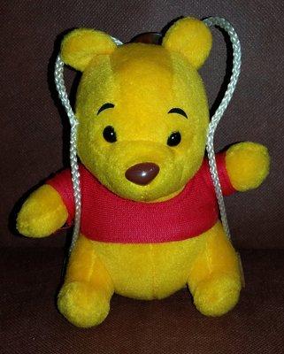 小熊維尼玩偶.小熊維尼汽車吊飾
