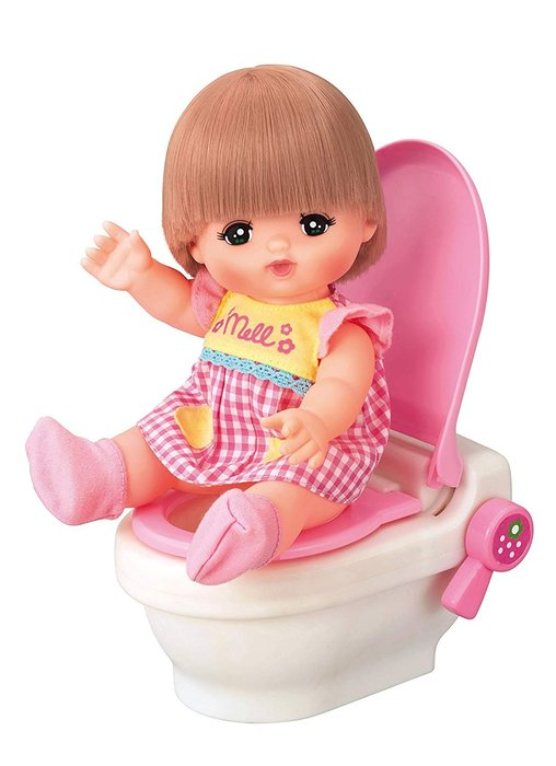 小美樂娃娃 草莓 音效 馬桶_PL 51414原價650元 日本幼兒園最愛娃娃 永和小人國玩具店