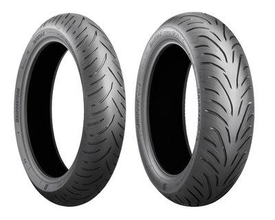 【大台南】歐多邁輪胎部 普利司通 BATTLAX SC2 鋼絲胎 120-70-15 含安裝+氮氣+平衡+除臘.