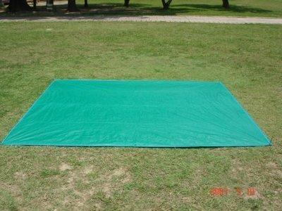 【SAMCAMP 噴火龍】台灣製造 ㊣ 帳篷PE防潮地布(地墊) - 300cm*300cm